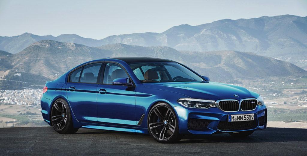 Latest Pics of 2017 BMW M5