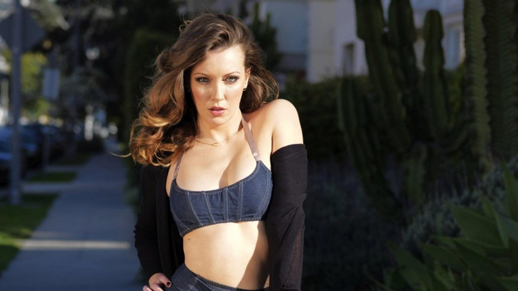 katie cassidy latest wallpaper
